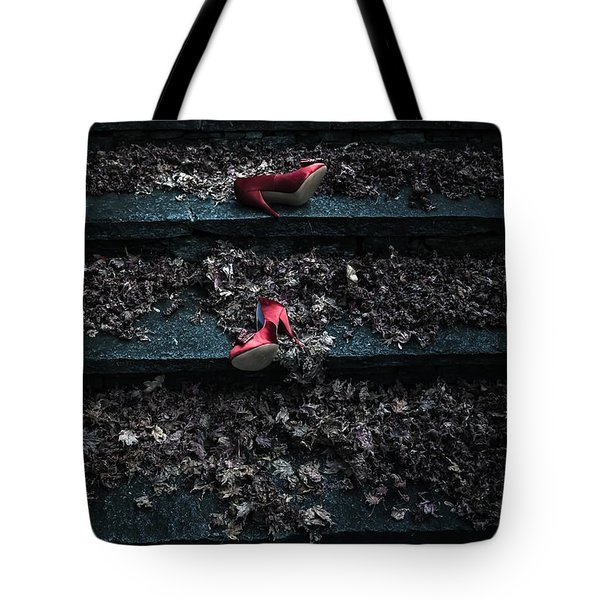 Lost Shoes Tote Bag by Joana Kruse