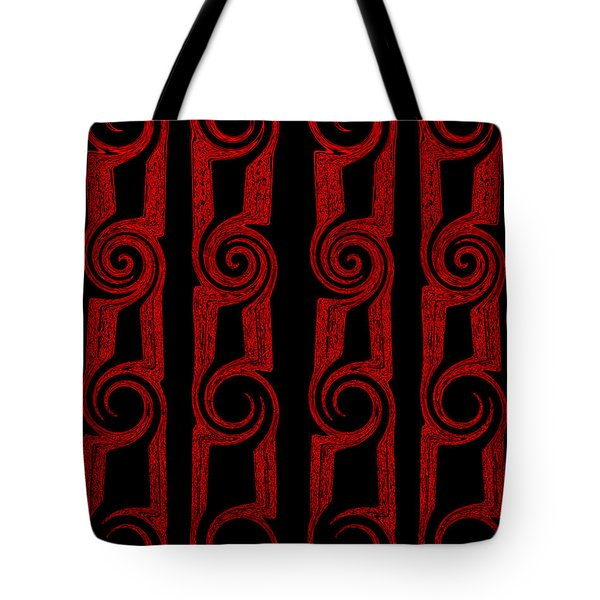 Lost Tribes Tote Bag