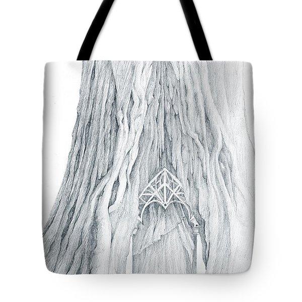 Lothlorien Mallorn Tree Tote Bag