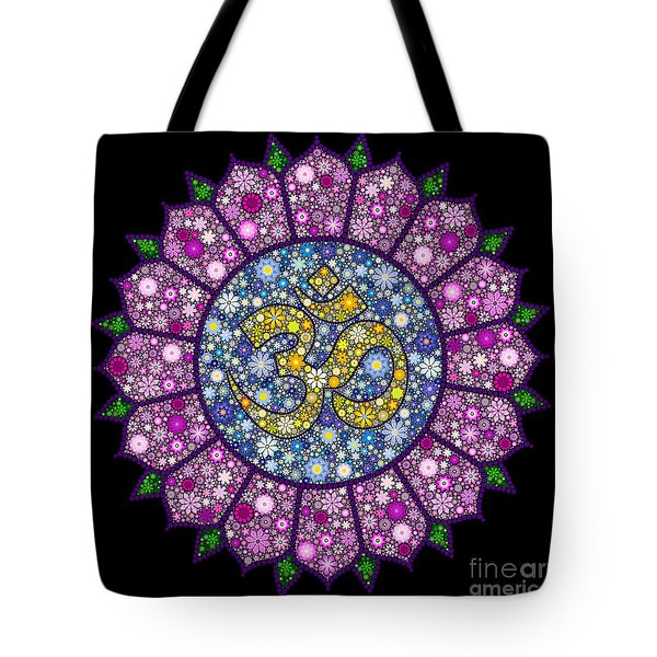 Lotus Aum Tote Bag
