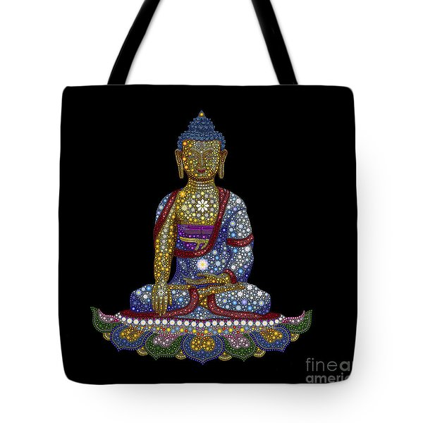 Lotus Buddha Tote Bag