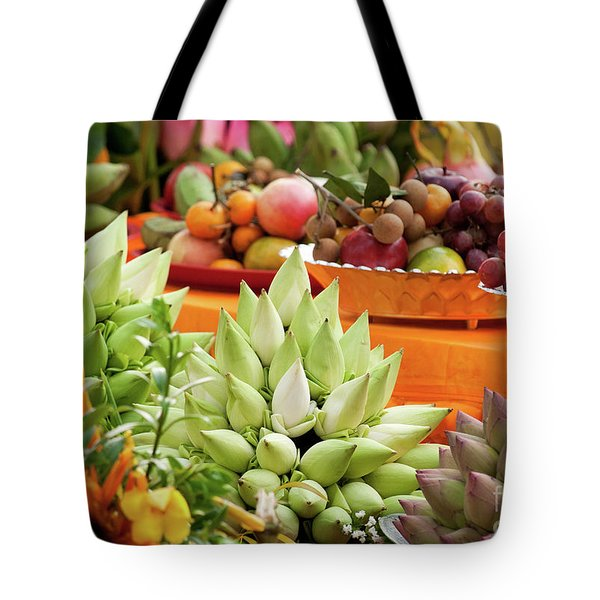 Lotus Buds 02 Tote Bag