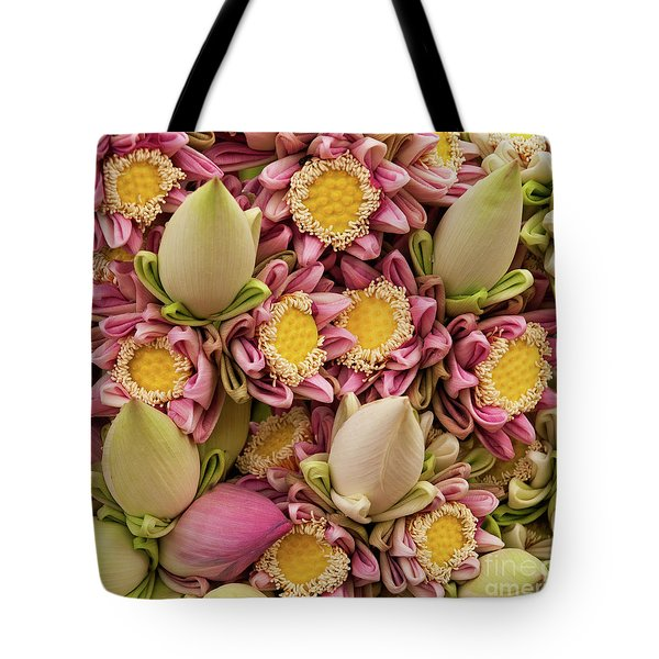 Lotus Buds 03 Tote Bag