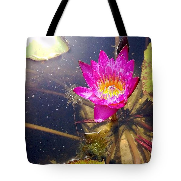 Lotus Day Tote Bag