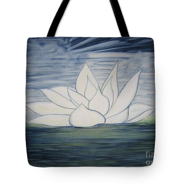 Lily  Tote Bag by Heather  Hiland
