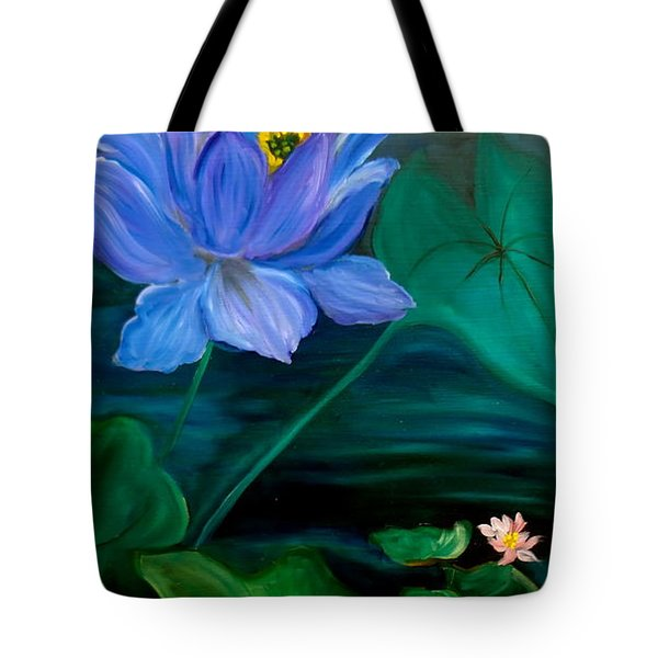 Lotus Tote Bag by Jenny Lee