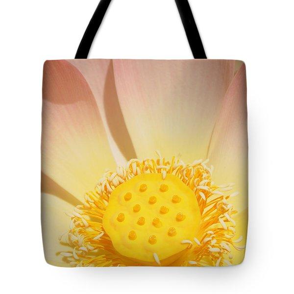 Lotus Number One Tote Bag by Catherine Lau