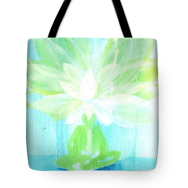 Lotus Petals Awakening Spirit Tote Bag by Ashleigh Dyan Bayer