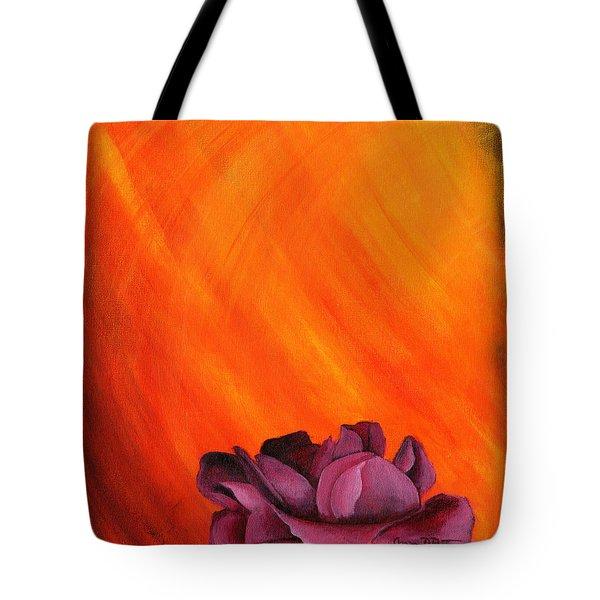 Lotus Rose Tote Bag