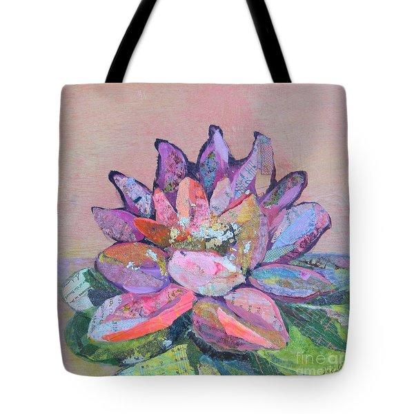 Lotus V Tote Bag