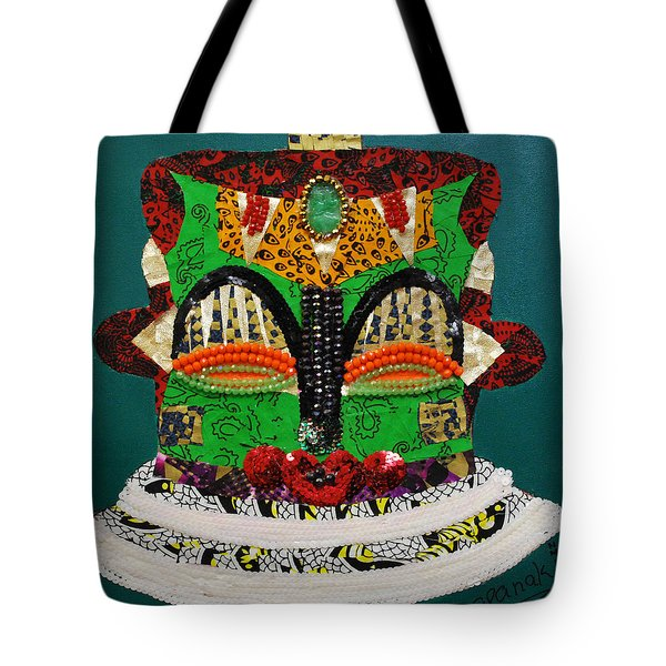 Lotus Warrior Tote Bag