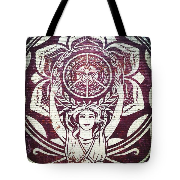 Lotus Woman Of Brooklyn Tote Bag