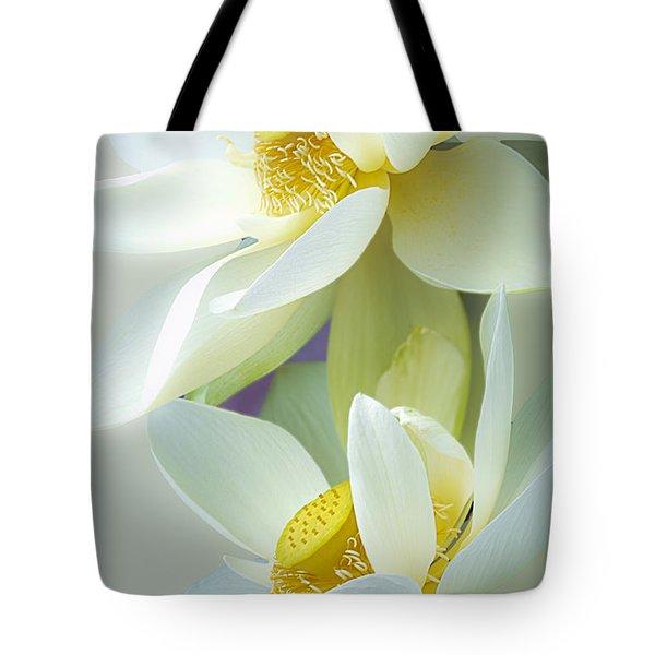 Lotuses In Bloom Tote Bag