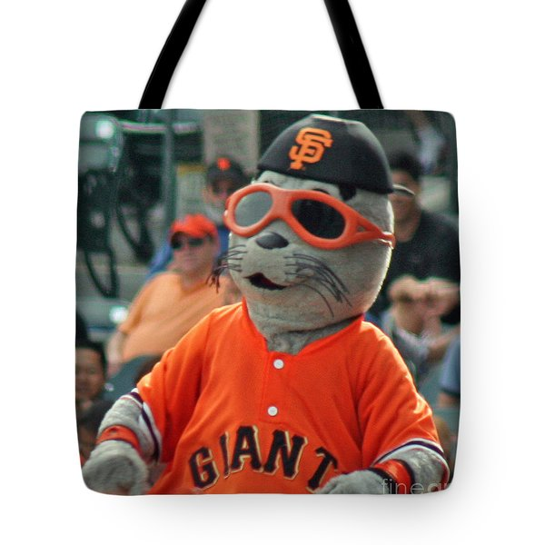 Lou Seal San Francisco Giants Mascot Tote Bag
