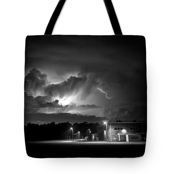 Tote Bag featuring the photograph Loud And Bright by Ben Shields