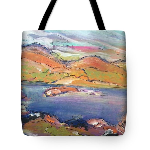 Loughrigg Fell Lake District Tote Bag