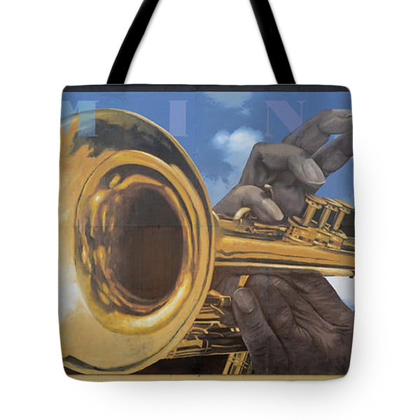 Louis Armstrong Tote Bag by Bob Christopher