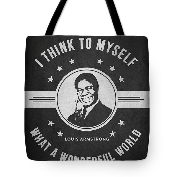 Louis Armstrong - Dark Tote Bag