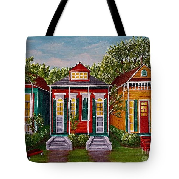 Louisiana Loves Shotguns Tote Bag