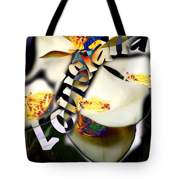 Louisiana Magnoila  Tote Bag