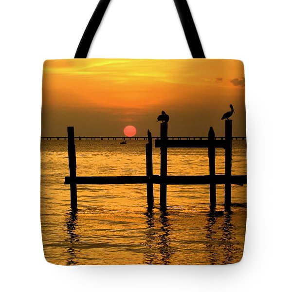 Louisiana Sunset  Tote Bag