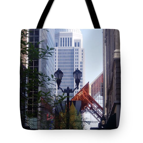 Louisville Buildings 2 Tote Bag by Jennifer E Doll