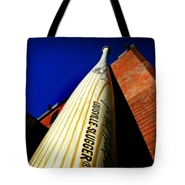 Louisville Slugger Bat Factory Museum Tote Bag