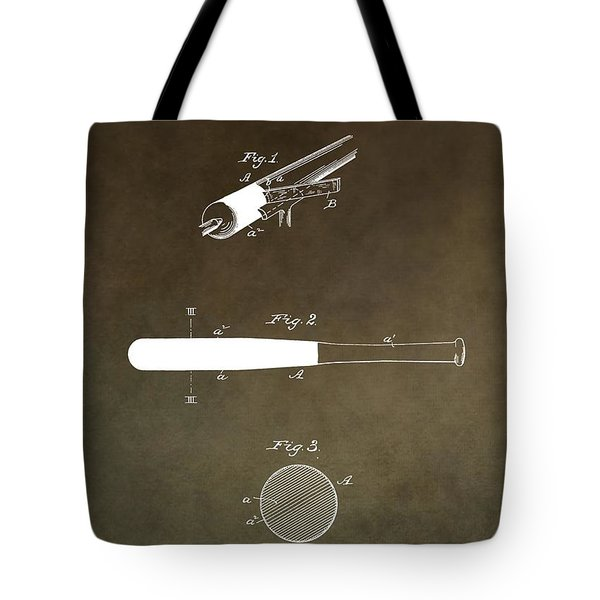 Louisville Slugger Patent Tote Bag by Dan Sproul