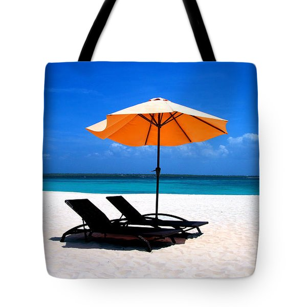 Tote Bag featuring the photograph Lounging By The Sea by Joey Agbayani