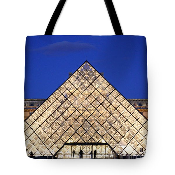 Louvre Pyramid Tote Bag by Joanna Madloch