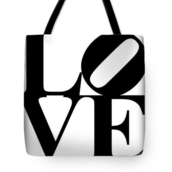 Love 20130707 Black White Tote Bag