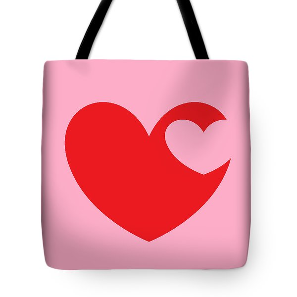 Tote Bag featuring the mixed media Love 4 by Andrew Drozdowicz
