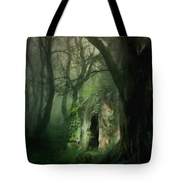 Love Affair With A Forest Tote Bag