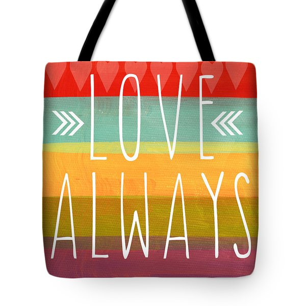 Love Always Tote Bag by Linda Woods