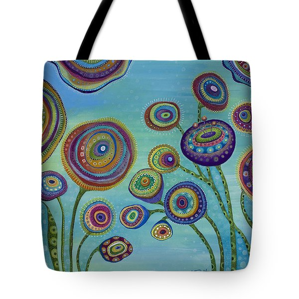 Tote Bag featuring the painting Love And Light by Tanielle Childers