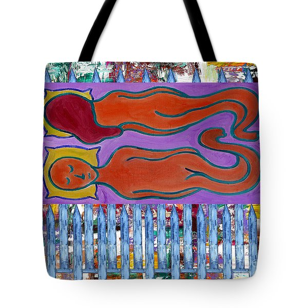 Love And Marriage Tote Bag by Patrick J Murphy