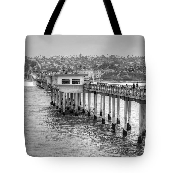 Love At First Wave Tote Bag