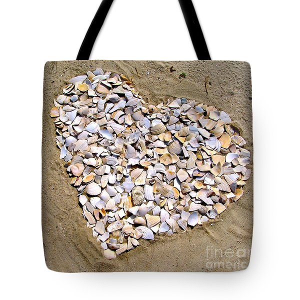 Love At The Jersey Shore Tote Bag