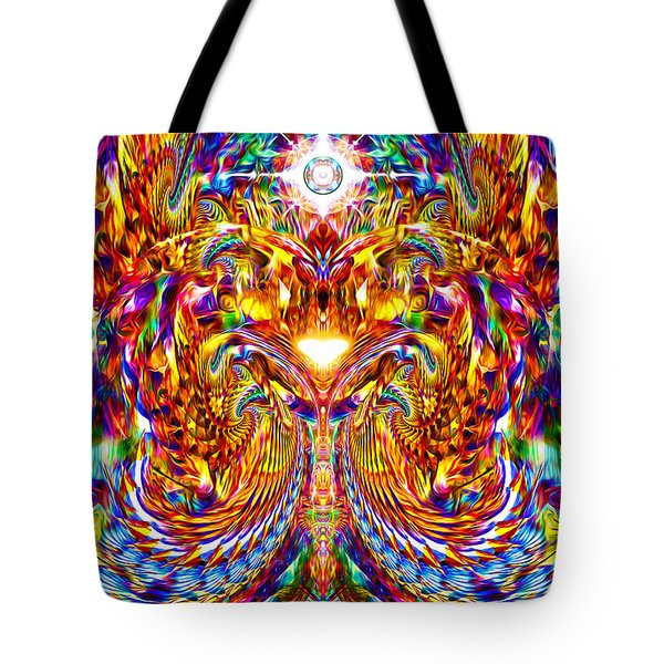Love Awakening Tote Bag by Jalai Lama