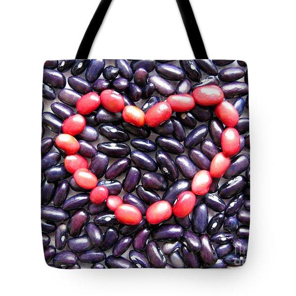 Love Beans #01 Tote Bag by Ausra Huntington nee Paulauskaite