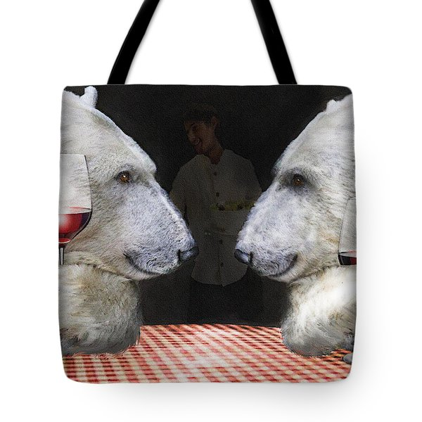 Tote Bag featuring the digital art Love Bears All Things by Jane Schnetlage
