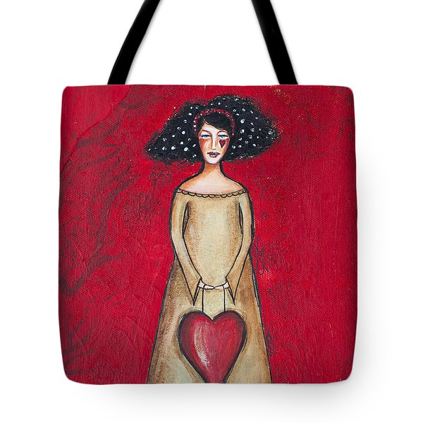 Love Bringer Tote Bag by Stanka Vukelic