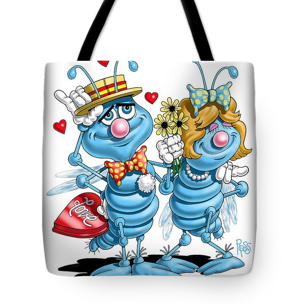 Love Bugs Tote Bag by Scott Ross