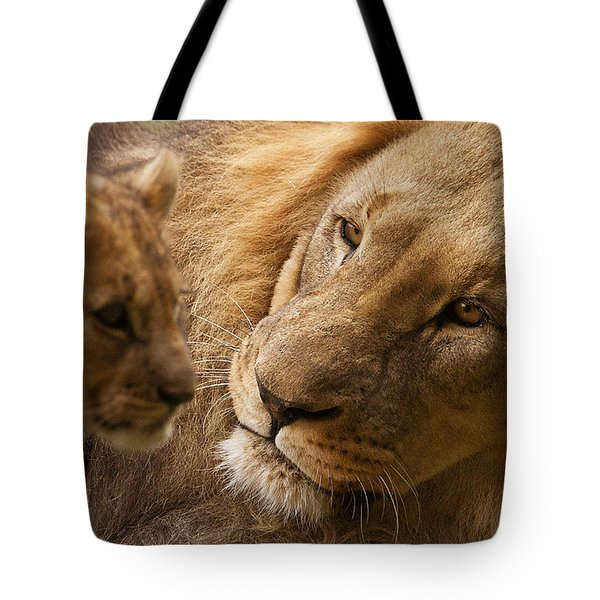 Love Tote Bag by Christine Sponchia