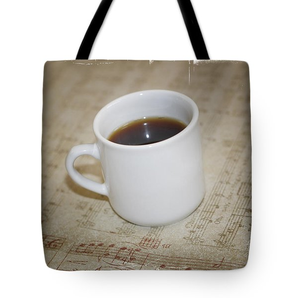Love Coffee And Music Tote Bag by Nina Prommer