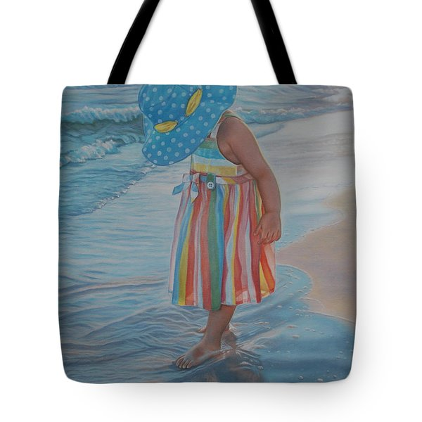 Love Comes In Many Colors Tote Bag by Holly Kallie