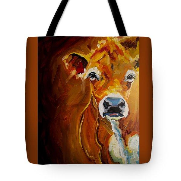 Love Cow Tote Bag