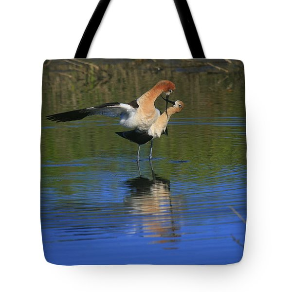 Tote Bag featuring the photograph  Courtship Cross by John F Tsumas