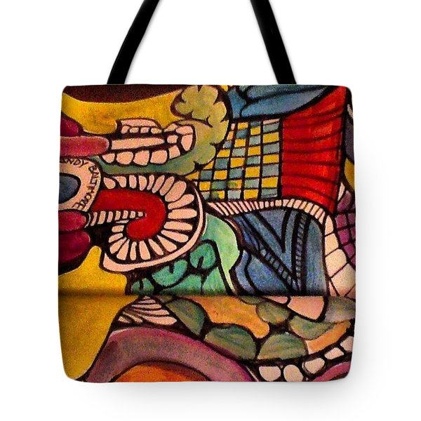 Love Doodling Tote Bag