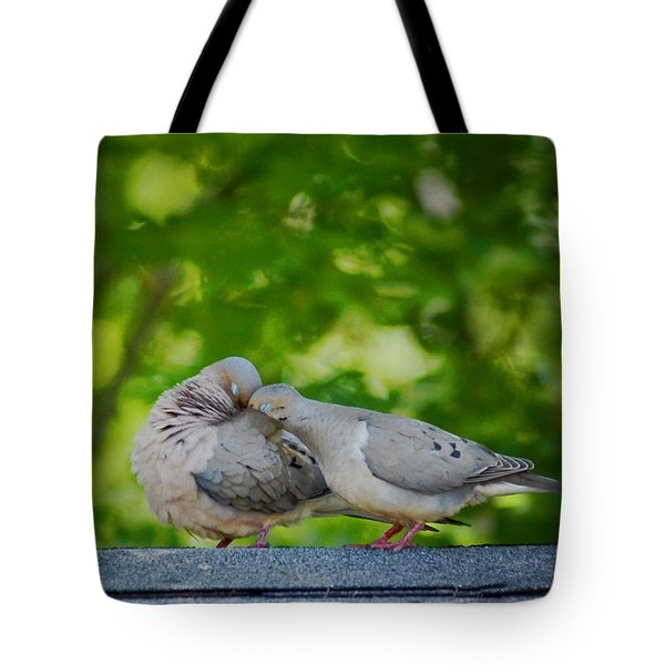 Love Doves  Tote Bag